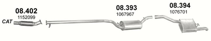 Технические характеристики Ford Focus C-Max 1.8 (DM2), 125 ...