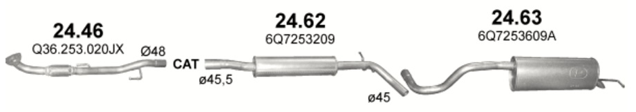 24.46 (inox) + 24.62 + 24.63