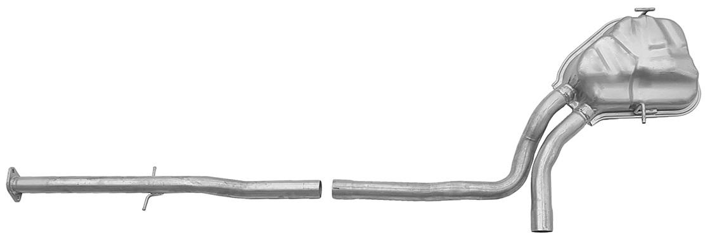 Rura + tłumik