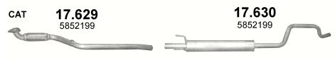 Rohr + Schalldämpfer